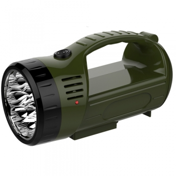 12LED+9SMD rechargeable searchlight